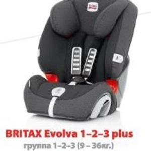 продам автокресло Britax Evolva 1-2-3 plus