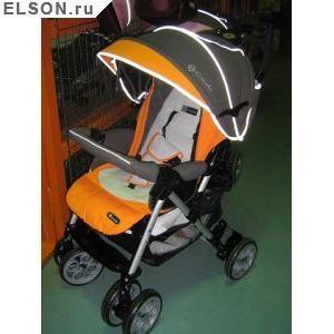 Продам детскую коляску Capella S-801 w