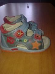сандалики для мальчика